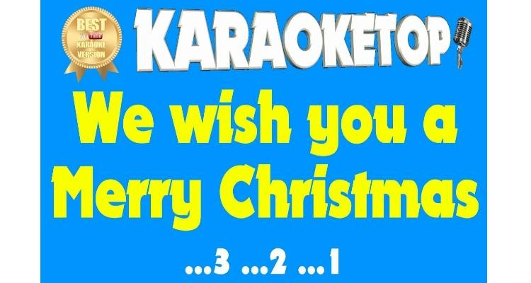 We wish you a Merry Christmas (karaoke, base musicale)