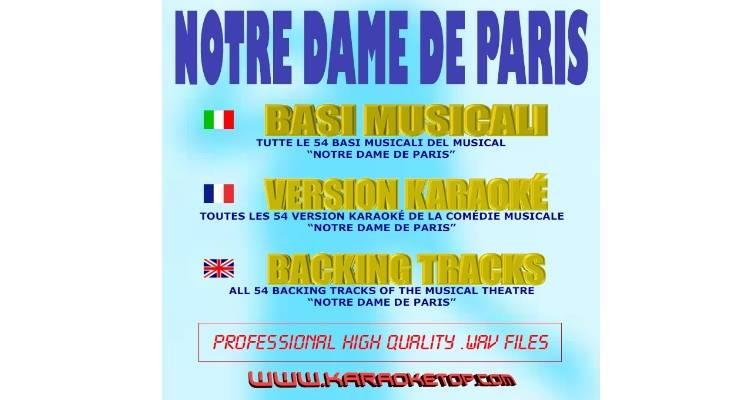 Notre Dame De Paris (karaoke, basi musicali)