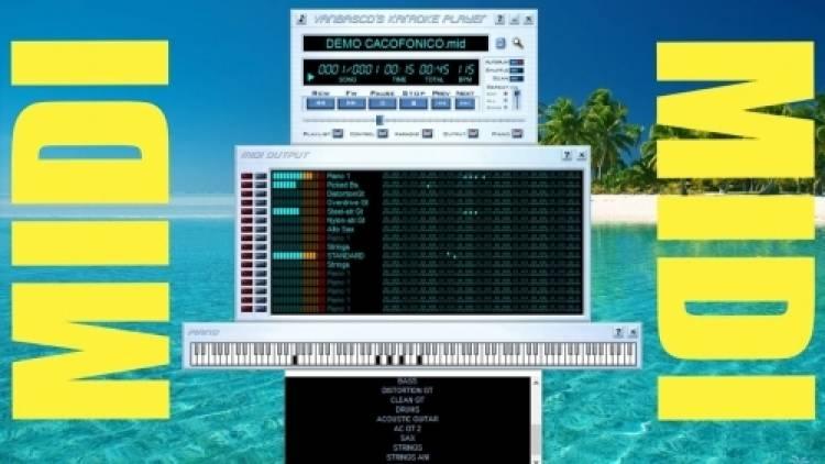 Come migliorare i suoni delle basi musicali midi file e kar file.