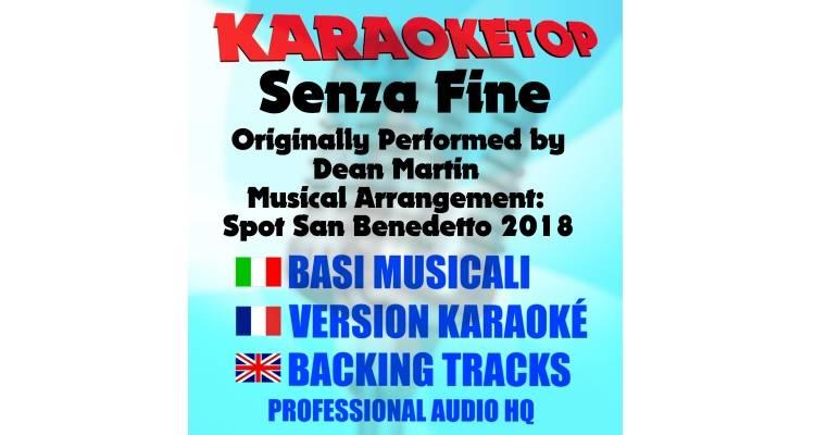 Senza Fine - Brandon Chase - Arrangiamento musicale dallo Spot Acqua San Benedetto 2018 (karaoke, base musicale)