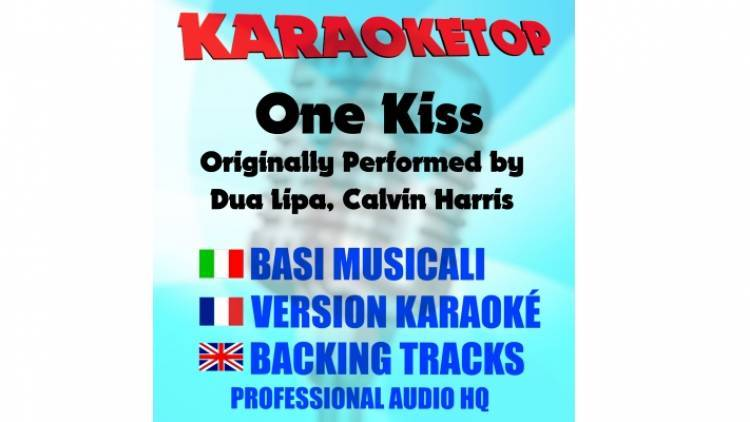 One Kiss - Dua Lipa Ft. Calvin Harris (karaoke, base musicale)