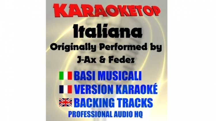 Italiana - J-Ax & Fedez (karaoke, base musicale)