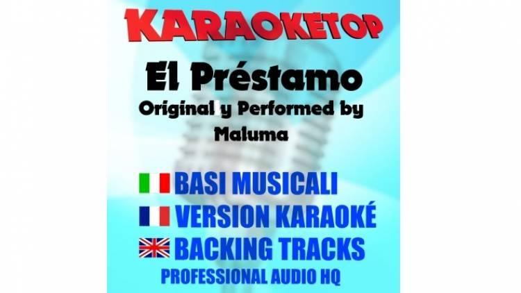 El Préstamo - Maluma (karaoke, base musicale)