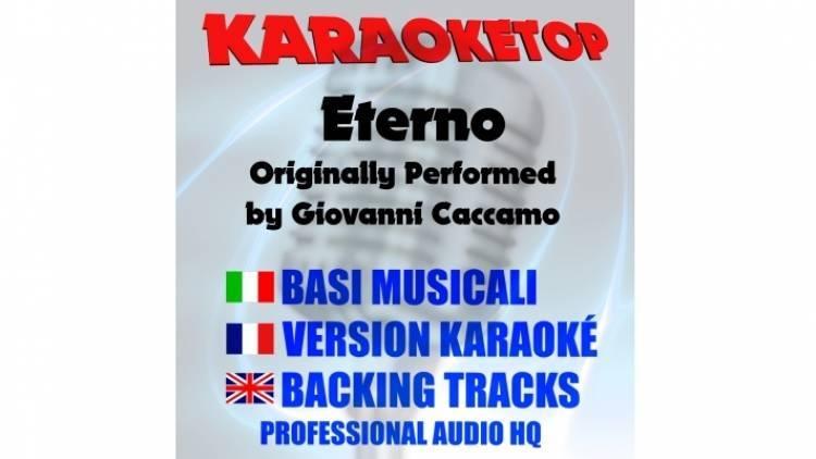 Eterno - Giovanni Caccamo (karaoke, base musicale)