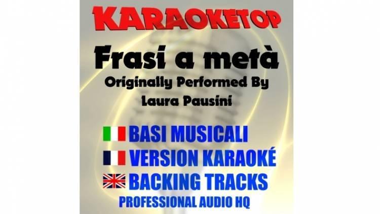 Frasi a metà - Laura Pausini (karaoke, base musicale)