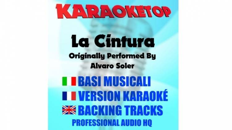 La cintura - Alvaro Soler (karaoke, base musicale)