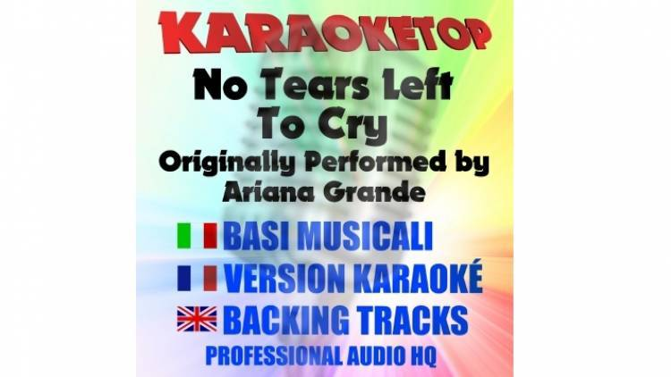 No Tears Left to Cry - Ariana Grande (karaoke, base musicale)