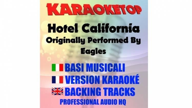 Hotel California - Eagles (karaoke, base musicale)
