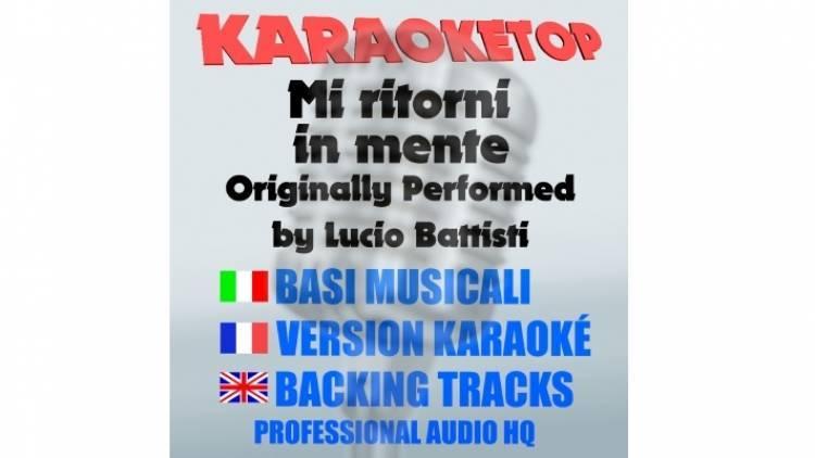 Mi ritorni In mente - Lucio Battisti (karaoke, base musicale)