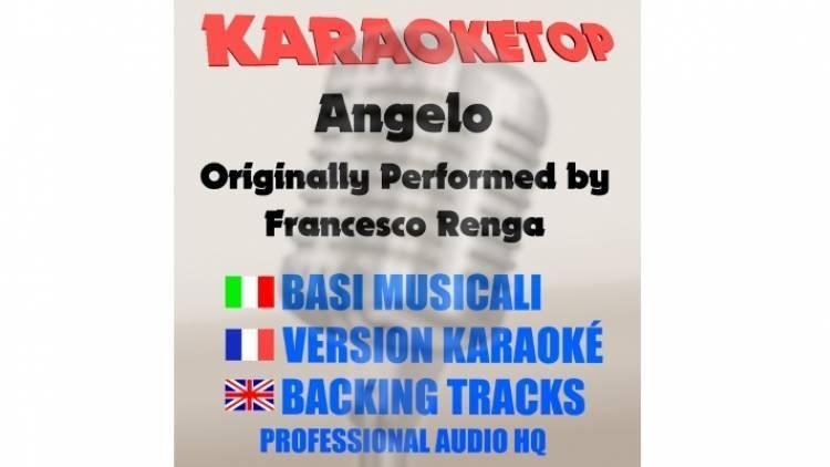 Angelo - Francesco Renga (karaoke, base musicale)