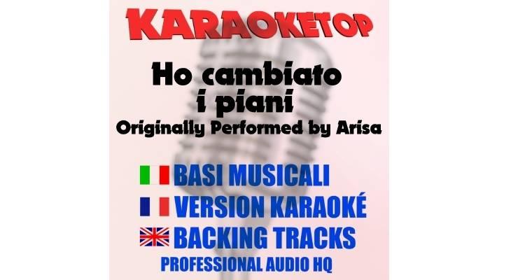 Ho cambiato i piani - Arisa (karaoke, base musicale)