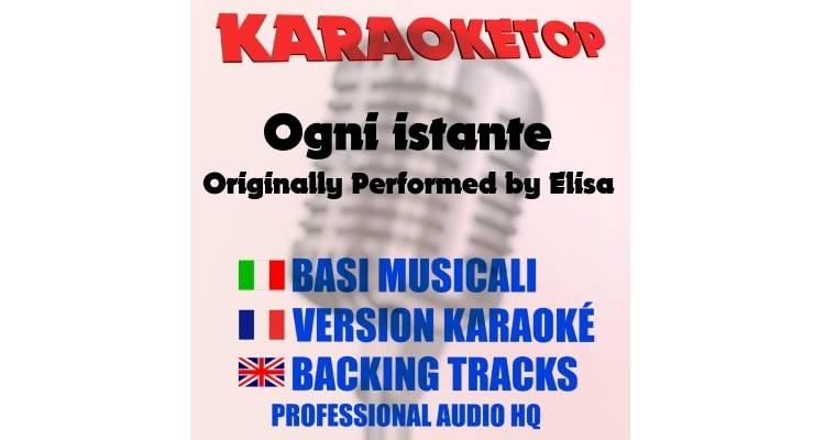 Elisa - Ogni istante (karaoke, base musicale)