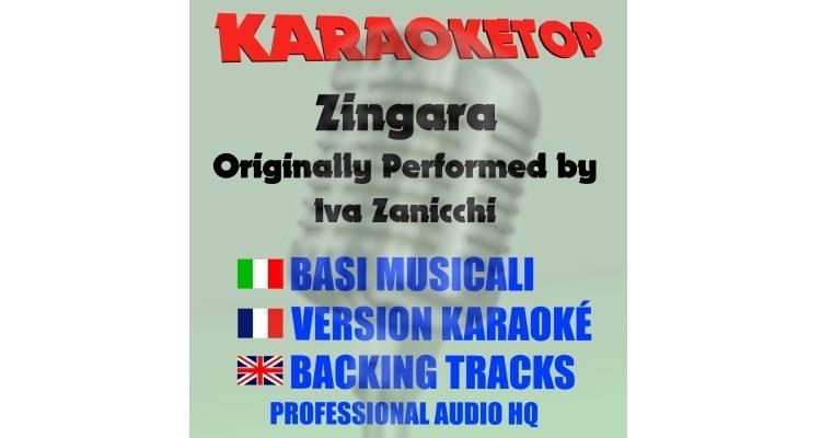 Zingara - Iva Zanicchi (karaoke, base musicale)