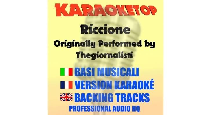 Riccione - Thegiornalisti (karaoke, base musicale)