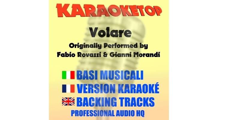 Volare - Fabio Rovazzi ft. Gianni Morandi (karaoke, base musicale)