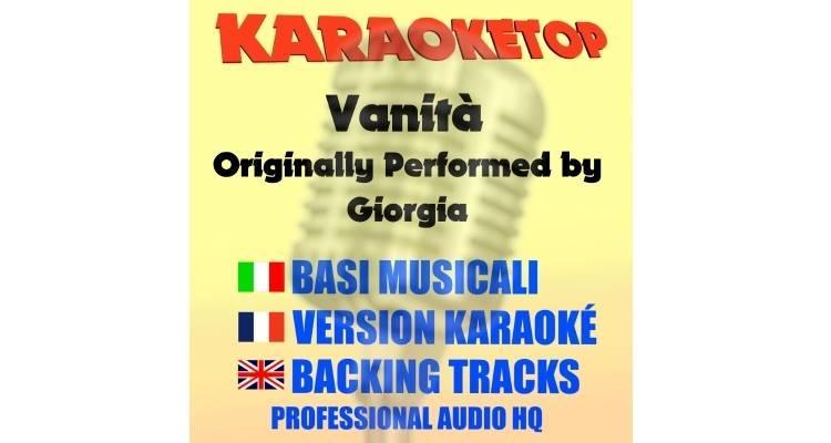 Vanità - Giorgia (karaoke, base musicale)