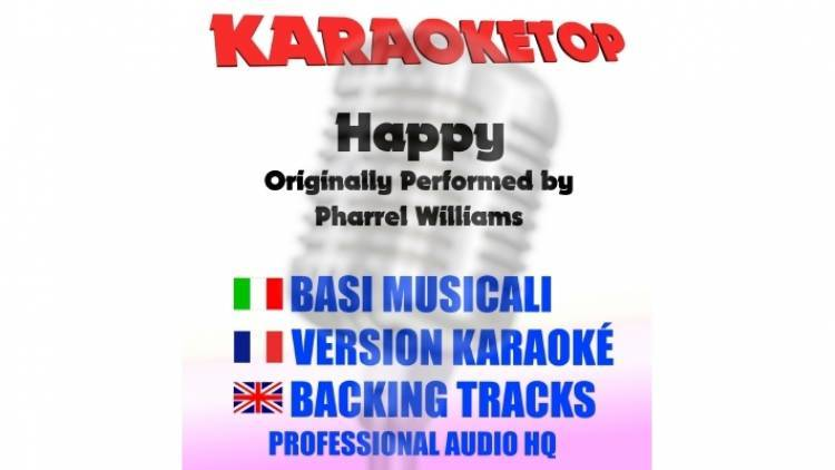 Happy - Pharrel Williams (karaoke, base musicale)