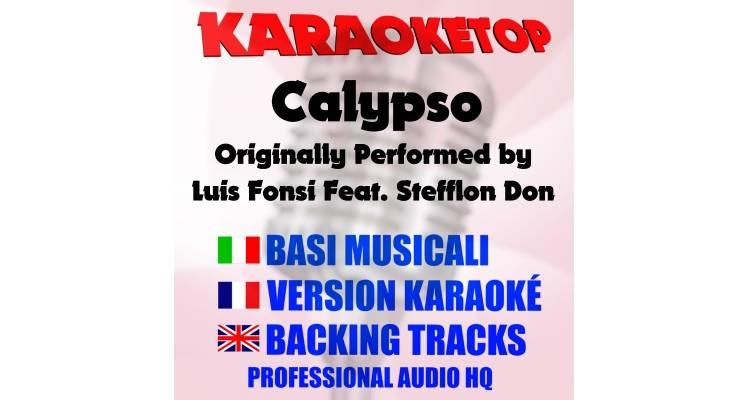 Calypso - Luis Fonsi Ft. Stefflon Don (karaoke, base musicale)