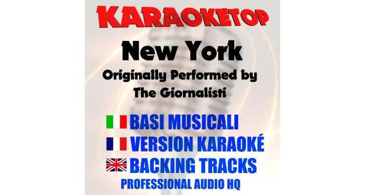 New York - The Giornalisti (karaoke, base musicale)