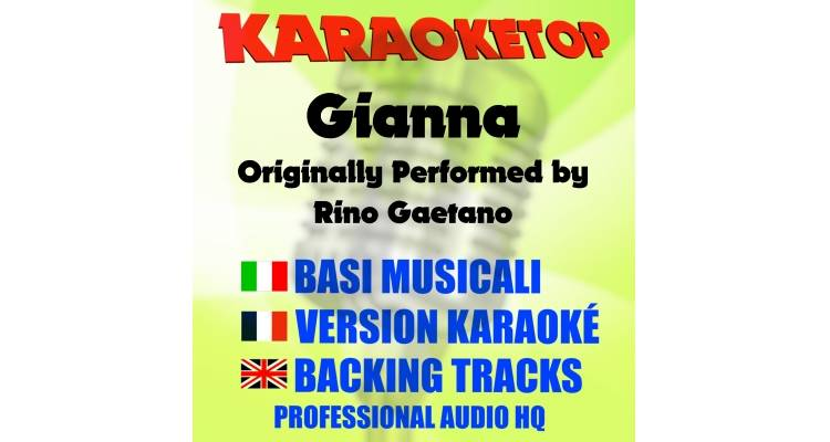 Gianna - Rino Gaetano (karaoke, base musicale)