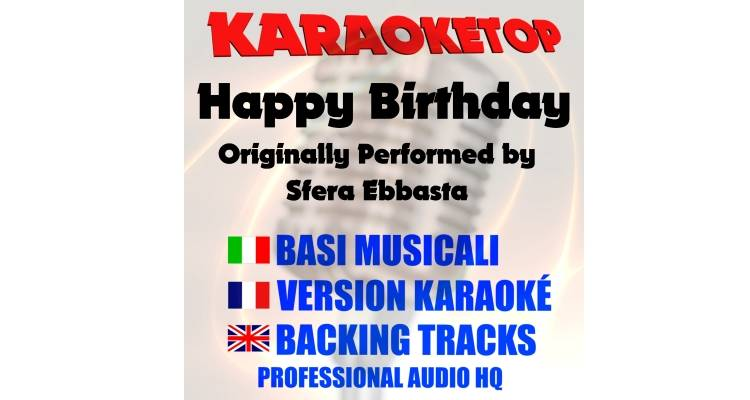 Happy Birthday - Sfera  (karaoke, base musicale)