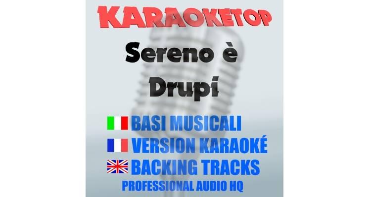 Sereno è - Drupi (karaoke, base musicale)