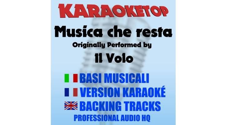 Musica che resta - Il Volo (karaoke, base musicale)