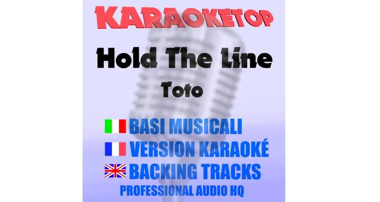 Hold the Line - Toto (karaoke, base musicale)