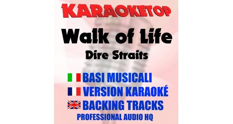Walk of Life - Dire Straits (karaoke, base musicale)