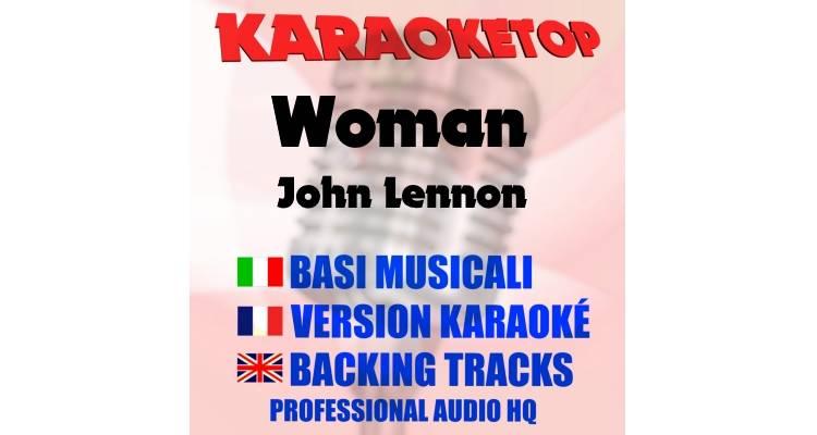 Woman - John Lennon (karaoke, base musicale)