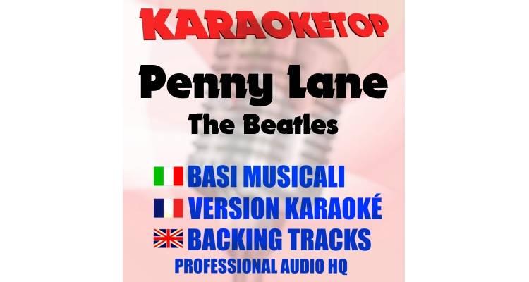 Penny Lane - The Beatles (karaoke, base musicale)