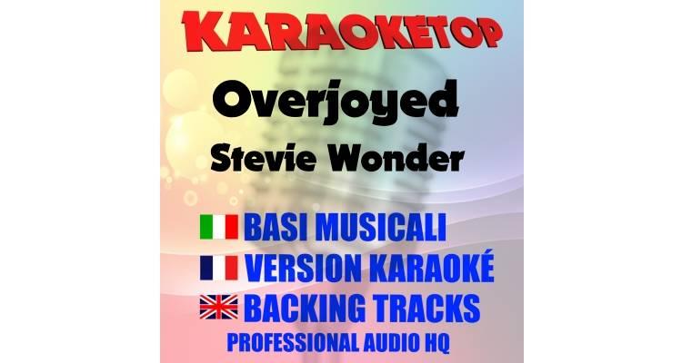 Overjoyed - Stevie Wonder