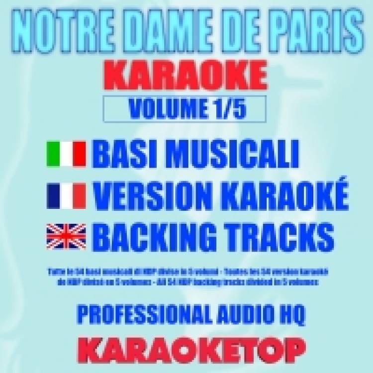 Notre Dame De Paris (karaoke, backing tracks) - KARAOKETOP