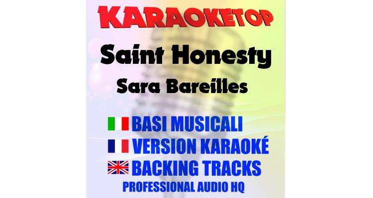 Saint Honesty - Sara Bareilles (karaoke, base musicale)