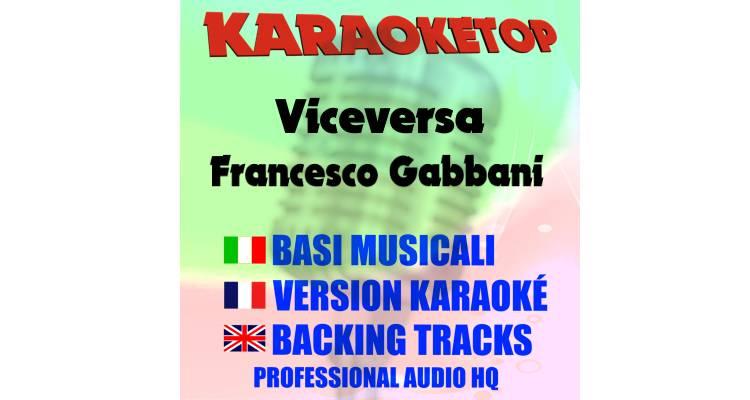 Viceversa - Francesco Gabbani (karaoke, base musicale)