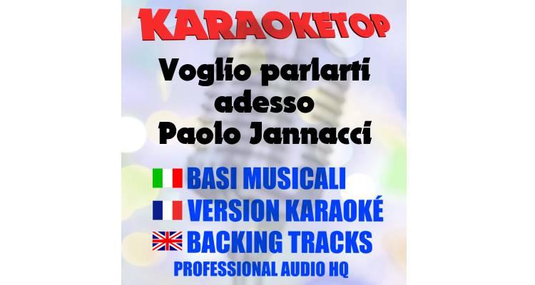 Voglio parlarti adesso - Paolo Jannacci (karaoke, base musicale)