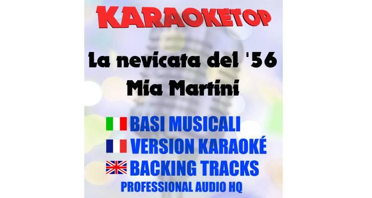 La nevicata del 56 - Mia Martini (karaoke, base musicale)