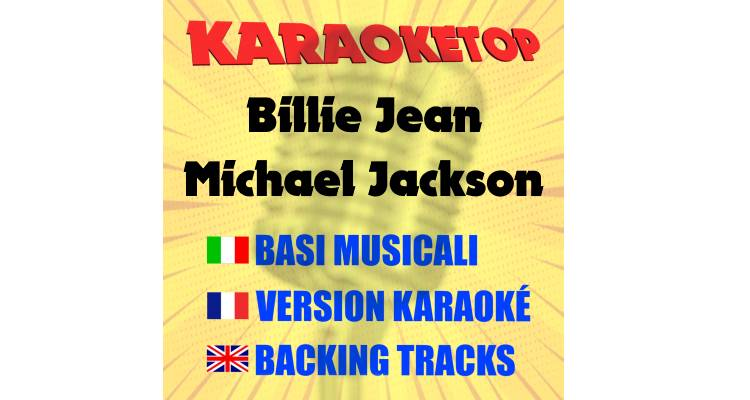 Billie Jean - Michael Jackson (karaoke, base musicale)