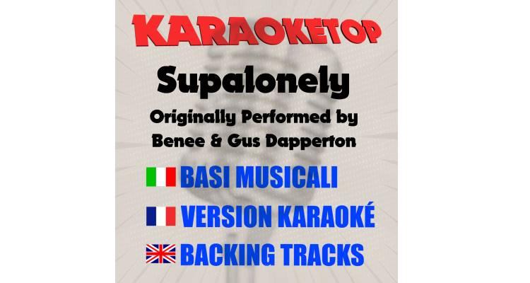 Supalonely - Benee & Gus Dapperton (karaoke, base musicale)