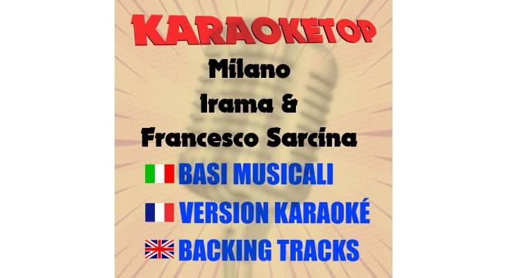 Milano - Irama & Francesco Sarcina (karaoke, base musicale)