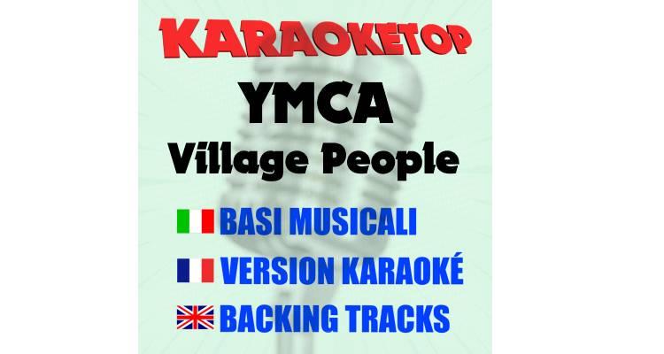 YMCA -Village People (karaoke, base musicale)