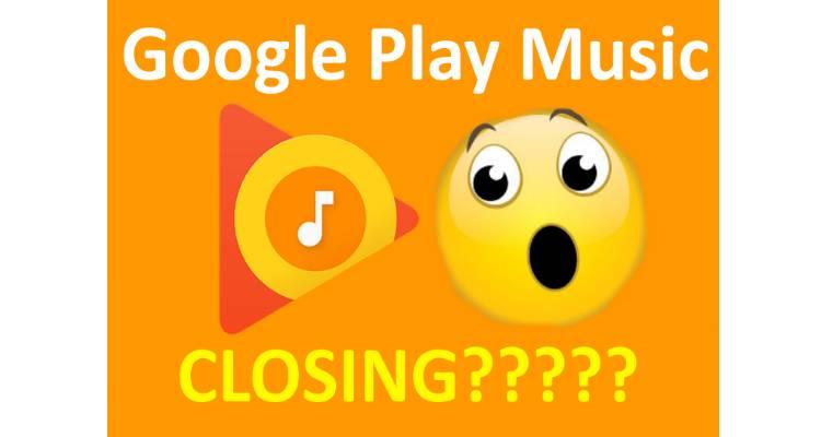 La chiusura di Google Play Music?