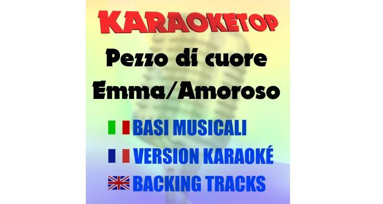 Pezzo di cuore - Emma & Alessandra Amoroso (karaoke, base musicale)
