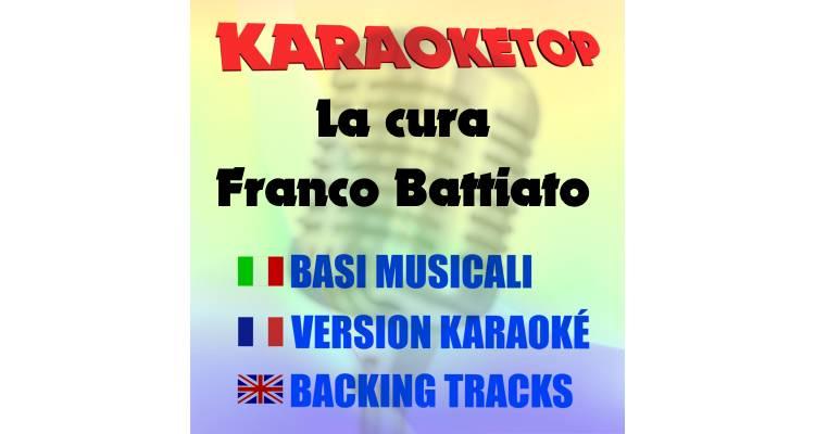 La cura - Franco Battiato (karaoke, base musicale)