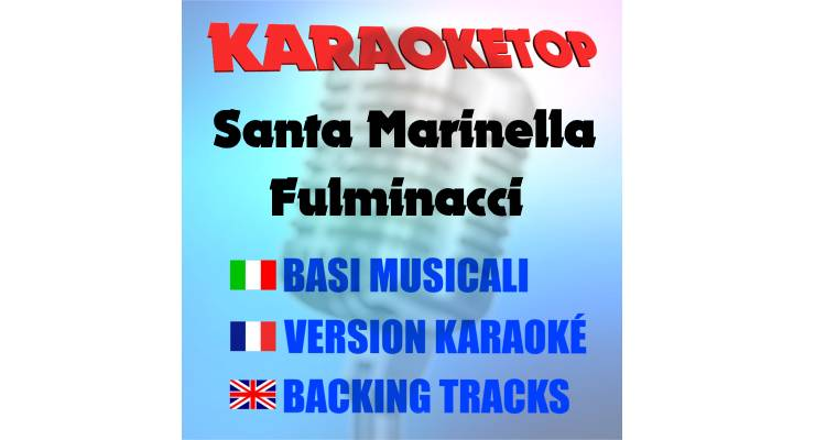 Santa Marinella - Fulminacci (karaoke, base musicale)