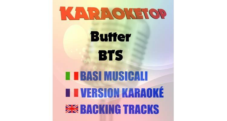 Butter - BTS (karaoke, base musicale)